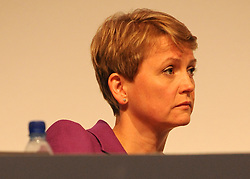 © Licensed to London News Pictures. 28/09/2011. LONDON, UK.Yvette Cooper, Shadow Home Secretary, at The Labour Party Conference in Liverpool today (28/09/11). Photo credit:  Stephen Simpson/LNP