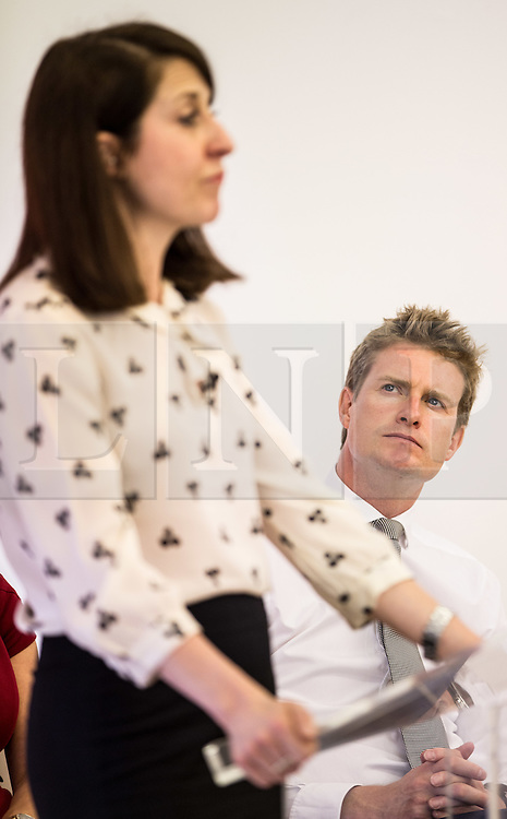 © Licensed to London News Pictures. 20/07/2015. London, UK. Tristram Hunt watching Labour leadership contender Liz Kendall give a speech at Livity in Brixton to Labour supporters. Photo credit : James Gourley/LNP