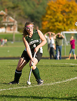 Field Hockey Gilford versus Hopkinton Saturday,  October 20, 2012