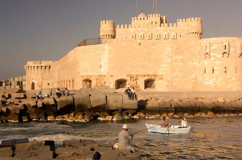 Citadel, Fort Qaitbey, Alexandria, Egypt