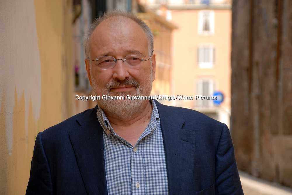 Stelian Tanase, Festivaletteratura Mantova , Romanian writer, historian, journalist, political analyst, and talk show host<br /> 05 September 2014<br /> <br /> Photograph by Giovanni Giovannetti/Effigie/Writer Pictures <br /> <br /> NO ITALY, NO AGENCY SALES