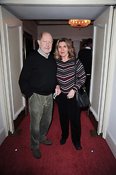 HARRIET HARPER and NIC ROEG at a screening of the short film 'Away We Stay' directed by Edoardo Ponti held at The Electric Cinema, Portobello Road, London W1 on 15th November 2010.