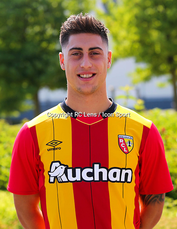 Alvaro Lemos during photoshooting of RC Lens for new season 2017/2018 on October 5, 2017 in Lens, France<br /> Photo by RC Lens / Icon Sport