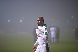 NEWPORT, WALES - Wednesday, December 21, 2016: Plymouth Argyle's Paul Garita after the 1-0 extra-time victory over Newport County during the FA Cup 2nd Round Replay match at Rodney Parade. (Pic by David Rawcliffe/Propaganda)