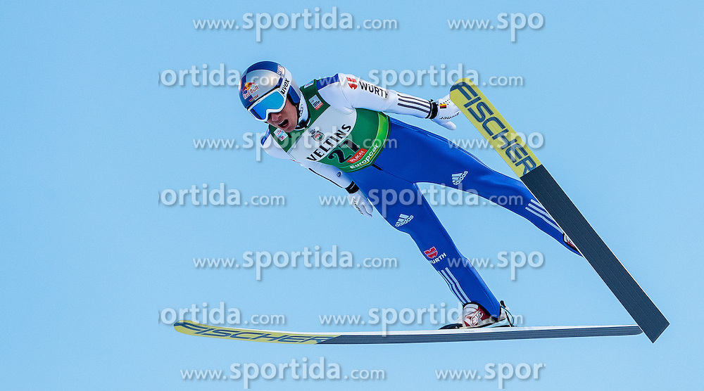 25.11.2016, Nordic Arena, Ruka, FIN, FIS Weltcup Nordische Kombination, Nordic Opening, Kuusamo, Skisprung, im Bild Jakob Lange (GER) // Jakob Lange (GER) during Skijumping of FIS Nordic Combined World Cup of the Nordic Opening at the Nordic Arena in Ruka, Finland on 2016/11/25. EXPA Pictures © 2016, PhotoCredit: EXPA/ JFK