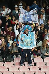 October 21, 2017 - Napoli, Campania/Napoli, Italy - Action during soccer match between SSC Napoli  and  F.C.Inter    at San Paolo  Stadium in Napoli .final result Napoli vs. F.C.Inter 0-0.In picture supporters' SSC NAPOLI (Credit Image: © Salvatore Esposito/Pacific Press via ZUMA Wire)