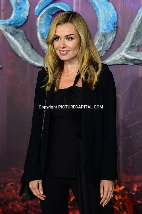 Katherine Jenkins attend European Premiere of Frozen 2 on 17 November 2019, BFI Southbank, London, UK.
