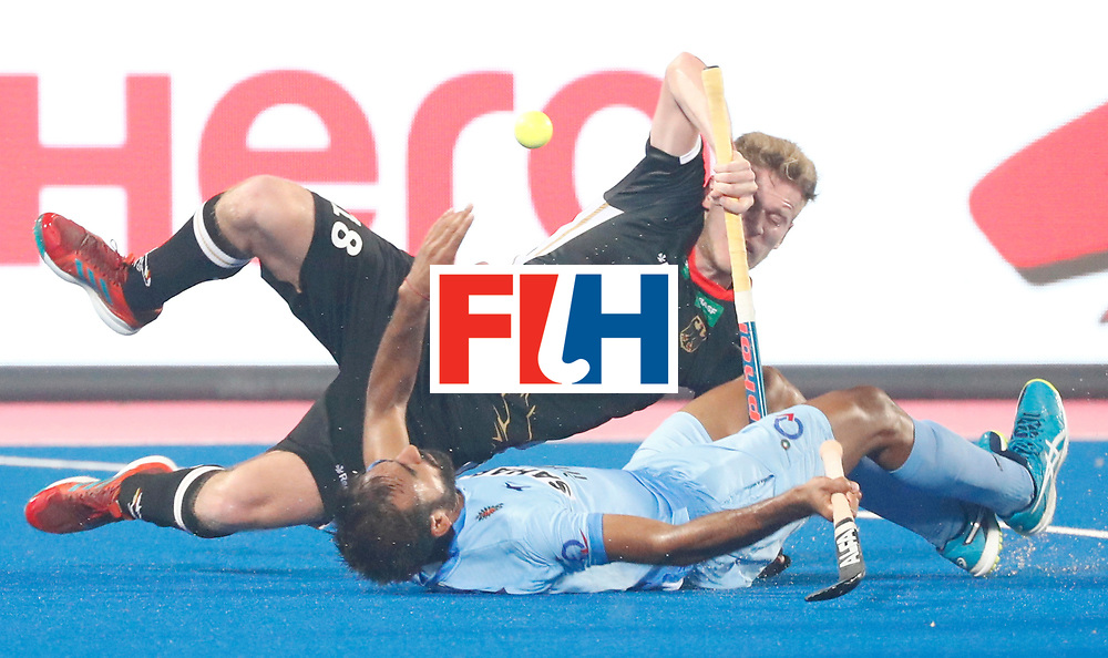Odisha Men's Hockey World League Final Bhubaneswar 2017<br /> Match id:10<br /> India v Germany<br /> Foto: Ferdinand Weinke (Ger) <br /> COPYRIGHT WORLDSPORTPICS KOEN SUYK
