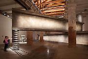 "12th Biennale of Architecture. Arsenale, Corderie. ""Balancing Act"", 2010 by Anton Garcia Abril & Ensamble Studio."