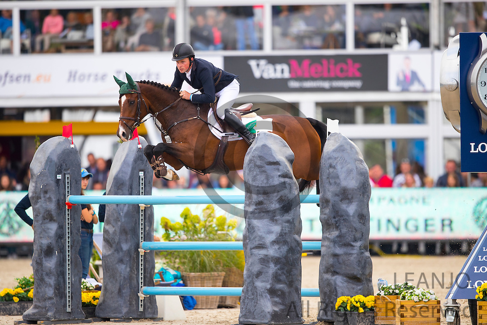 Gerard O'Neill - Killossery Kaiden<br /> FEI World Breeding Jumping Championships for Young Horses 2016<br /> © DigiShots