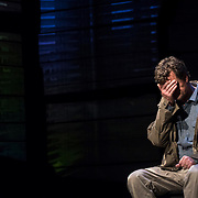 February 10, 2016 - New York, NY : Michael Cumpsty performs in a dress rehearsal for the Primary Stages production of Dan O'Brien's 'The Body of an American' at the Cherry Lane Theatre in Manhattan on Wednesday afternoon.  CREDIT: Karsten Moran for The New York Times