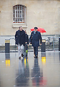 Jeremy Corbyn MP <br /> Leader of the Labour Party <br /> arriving for the Andrew Marr Show at Broadcasting House, BBC TV, London, Great Britain <br /> 15th January 2017 <br /> <br /> Jeremy Corbyn <br /> with Seamus Milne <br /> <br /> <br /> <br /> Photograph by Elliott Franks <br /> Image licensed to Elliott Franks Photography Services