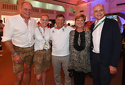 14.08.2016, Österreich Haus, Rio de Janeiro, BRA, Rio 2016, Olympische Sommerspiele, im Bild Peter Mennel Victoria Max Teurer Peter Schröcksnadel Sissi Max Theurer Karl Stoss // during the Rio 2016 Olympic Summer Games at the Österreich Haus in Rio de Janeiro, Brazil on 2016/08/14. EXPA Pictures © 2016, PhotoCredit: EXPA/ Erich Spiess