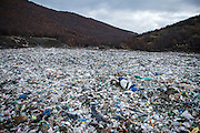 The official waste dumpy in Mitrovica, Germova, is situated about 6 km north of Mitrovica between two smaller mountains. The waste dump is approximately 30 years old, and has been restored bay DANIDA. Boys from the nearby villages scavenge the waste dump for recyclable metal and plastic.