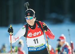 Rosanna Crawford of Canada during Women 7.5 km Sprint at day 1 of IBU Biathlon World Cup 2014/2015 Pokljuka, on December 18, 2014 in Rudno polje, Pokljuka, Slovenia. Photo by Vid Ponikvar / Sportida