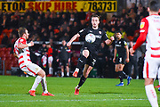 Mike-Steven Bahre of Barnsley (21) in action during the EFL Sky Bet League 1 match between Doncaster Rovers and Barnsley at the Keepmoat Stadium, Doncaster, England on 15 March 2019.