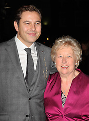 David Walliams and his mother at the premiere of  Deep Blue Sea in London, Thursday, 27th October 2011. Photo by: Stephen Lock / i-Images