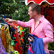 The Soho Society presents 45th Soho Village Fete with The Fabulous Lounge Swingers and many more food & crafts at St Anne's Gardens, Wardour Street on 30 June 2019, London, UK.