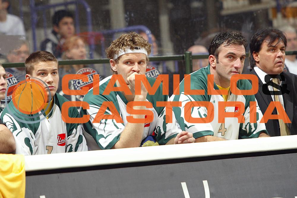 DESCRIZIONE : Bologna Eurolega 2007-08 VidiVici Virtus Bologna Union Olimpija Lubiana Ljubljana <br /> GIOCATORE : Tema Lubiana <br /> SQUADRA : Olimpija Lubiana Ljubljana <br /> EVENTO : Eurolega 2007-2008 <br /> GARA : VidiVici Virtus Bologna Union Olimpija Lubiana Ljubljana <br /> DATA : 29/11/2007 <br /> CATEGORIA : Delusione <br /> SPORT : Pallacanestro <br /> AUTORE : Agenzia Ciamillo-Castoria/G.Livaldi