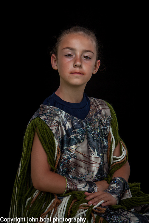 Hayden Light, Monacan.  Portraits at the Monacan Powwow.  Elon, VA.  Saturday, May 16, 2015.  John Boal Photography