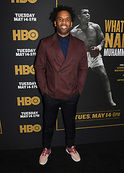May 8, 2019 - Los Angeles, California, USA - 08, May 2019 - Pasadena, California. Maverick Carter attends 'What's My Name | Muhammad Ali' HBO Documentary Premiere at Regal Cinemas LA LIVE 14 in Los Angeles, California. (Credit Image: © Billy Bennight/ZUMA Wire)
