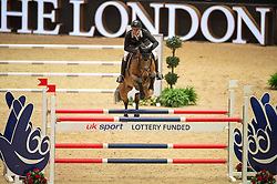 Guerdat Steve, (SUI), Corbinian<br /> The Christmas Speed Stakes <br /> London International Horse Show<br /> © Hippo Foto - Jon Stroud
