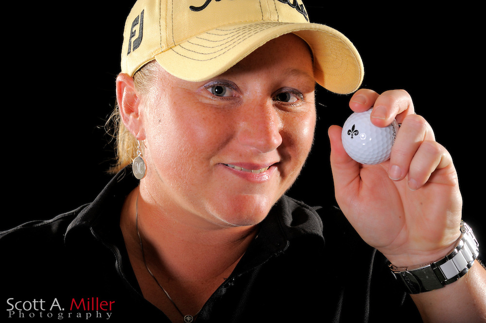 Meredith Duncan during a portrait shoot prior to the LPGA Future Tour's Daytona Beach Invitational at LPGA International's Championship Courser on March 28, 2011 in Daytona Beach, Florida... ©2011 Scott A. Miller