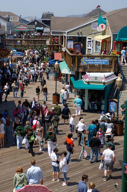 Pier 39, San Francisco, California, United States of America