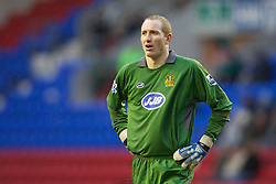 Wigan, England - Sunday, January 21, 2007: Wigan Athletic's goalkeeper Chris Kirkland during the Premier League match at the JJB Stadium. (Pic by David Rawcliffe/Propaganda)