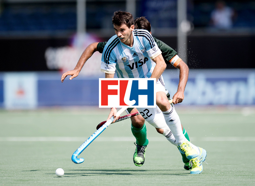 BREDA - Rabobank Hockey Champions Trophy<br /> Argentina - Pakistan<br /> Photo: Matias Rey.<br /> COPYRIGHT WORLDSPORTPICS FRANK UIJLENBROEK
