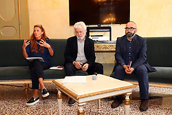 ROBERTA ZIOSI GEORGE EDELMAN MASSIMO MAISTO<br /> PRESENTAZIONE STAGIONE MUSICA TEATRO COMUNALE