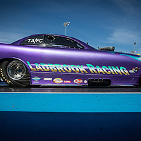 Russell Ladbrook (2809) in his Dodge Daytona Top Alcohol Funny Car at the Perth Motorplex.