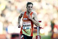Friidrett , 7. juni 2012 , Diamond League Bislett Games , <br /> Sindre Buraas ,  5000 m