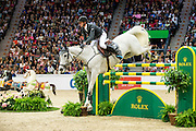 Kevin Staut - Silvana HDC<br /> Rolex FEI World Cup Final 2013<br /> © DigiShots