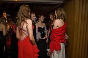 HANNAH RICHARDS; LOLI MCILVENNY; MILLY MCILVENNY; ANTONIA BROWN; HANNA BROWN. The 30th White Knights charity  Ball.  Grosvenor House Hotel. Park Lane. London. 10 January 2009 *** Local Caption *** -DO NOT ARCHIVE-© Copyright Photograph by Dafydd Jones. 248 Clapham Rd. London SW9 0PZ. Tel 0207 820 0771. www.dafjones.com.<br /> HANNAH RICHARDS; LOLI MCILVENNY; MILLY MCILVENNY; ANTONIA BROWN; HANNA BROWN. The 30th White Knights charity  Ball.  Grosvenor House Hotel. Park Lane. London. 10 January 2009