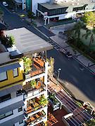 Skyline view of Broadbeach, QLD, Australia, near Brisbane and the Gold Coast.