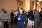 MARK WALLINGER, Tate Summer Party. Celebrating the opening of the  Fiona Banner. Harrier and Jaguar. Tate Britain. Annual Duveens Commission 29 June 2010. -DO NOT ARCHIVE-© Copyright Photograph by Dafydd Jones. 248 Clapham Rd. London SW9 0PZ. Tel 0207 820 0771. www.dafjones.com.