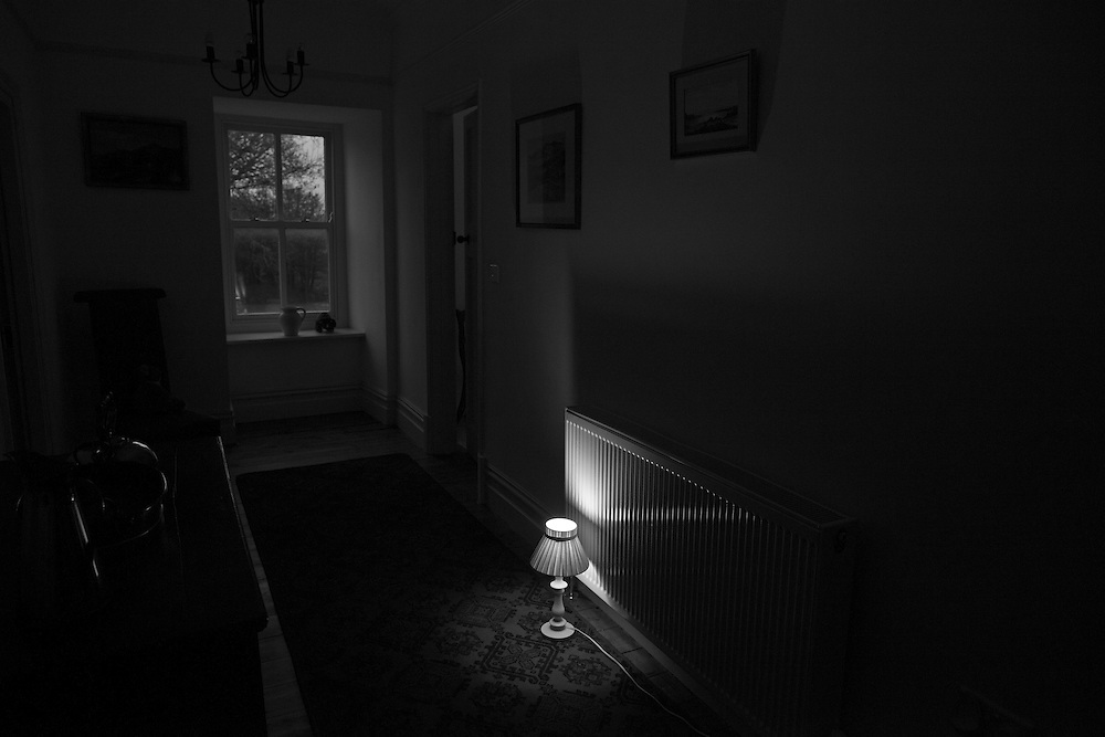 A night light shines in the dark requested by the children who are afraid to sleep in the dark in a cottage in Wales, UK  Saturday, Oct. 24, 2015 (Elizabeth Dalziel) #thesecretlifeofmothers #bringinguptheboys #dailylife