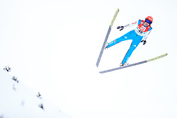 17.12.2017, Nordische Arena, Ramsau, AUT, FIS Weltcup Nordische Kombination, Skisprung, im Bild Vinzenz Geiger (GER) // Vinzenz Geiger of Germany during Cross Country Training of FIS Nordic Combined World Cup, at the Nordic Arena in Ramsau, Austria on 2017/12/17. EXPA Pictures © 2017, PhotoCredit: EXPA/ Dominik Angerer