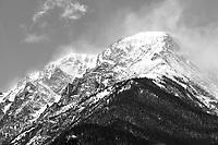 Mount Chapin, RMNP Colorado, Black & White