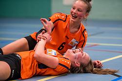 31-03-2018 NED: Finale C Volleybaldirect Open, Wognum<br /> 16 teams van meisjes en jongens C streden om het Nederlands Kampioenschap / Rivo Rijssen