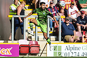 Forest Green Rovers Dominic Bernard(3) controls the ball during the EFL Sky Bet League 2 match between Bradford City and Forest Green Rovers at the Utilita Energy Stadium, Bradford, England on 24 August 2019.