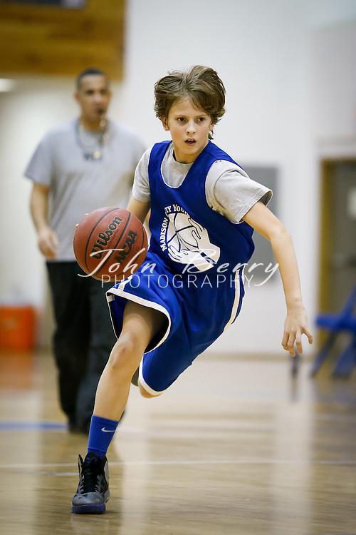 January/19/13:  Madison County Youth Basketball.  Hensley (22) vs Houser (23).  Boys.