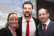Julian Speroni poses for pictures with Dundee fans - DundeeFC Hall of Fame at the Apex Hotel<br /> <br />  - &copy; David Young - www.davidyoungphoto.co.uk - email: davidyoungphoto@gmail.com