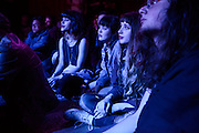 Spectators at Baby's All Right during the Red Bull Sound Select Series in New York, NY on April 22, 2014.