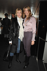 Left to right, MELISSA ODABASH and COUNTESS COSIMA PAVONCELLI she was Cosima von Bulow at a lunch to celebrate the launch of the Top Tips for Girls website (toptips.com) founded by Kate Reardon held at Armani, Brompton Road, London on 5th March 2007.<br />
