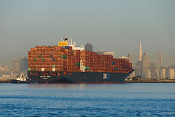 California: Container shipping at Port of Oakland. Photo copyright Lee Foster. Photo # casanf78964