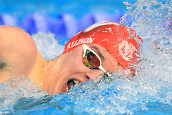 Fraser Allison competes in the Men's Junior 400m Individual Medley Final during day three of the 2017 British Swimming Championships at Ponds Forge, Sheffield. PRESS ASSOCIATION Photo. Picture date: Thursday April 20, 2017. See PA story SWIMMING Sheffield. Photo credit should read: Tim Goode/PA Wire