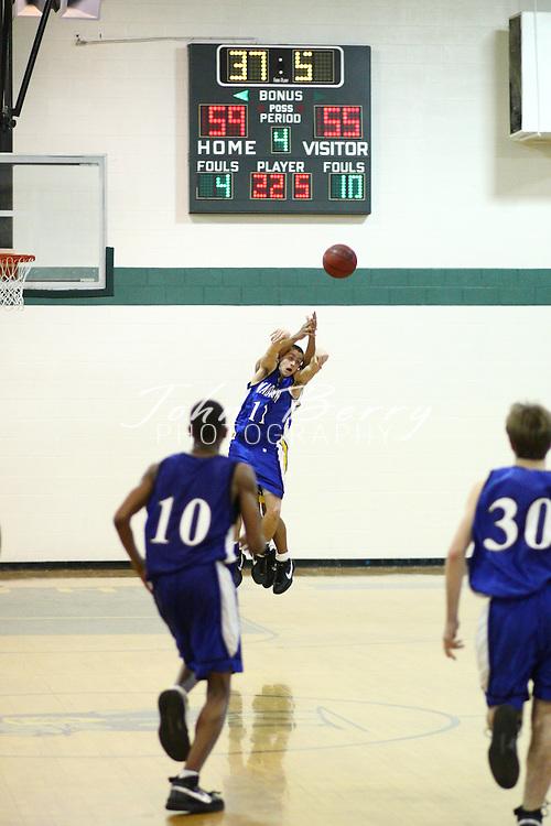 MCHS Varsity Boys Basketball.at Buckingham.Regional Quarter Finals.2/26/2008..
