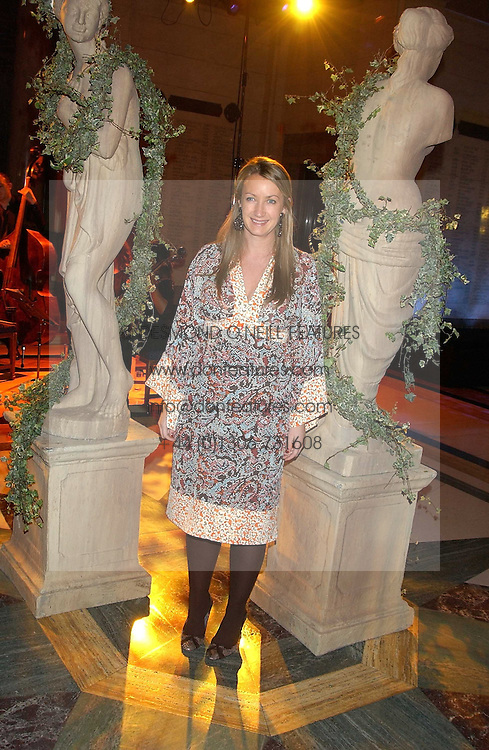 Designer ANYA HINDMARCH at the 2005 Lancome Colour Design Awards in association with CLIC Sargent Cancer Care for Children held at the Freemasons' Hall, Great Queen Street, London on 23rd November 2005.<br />